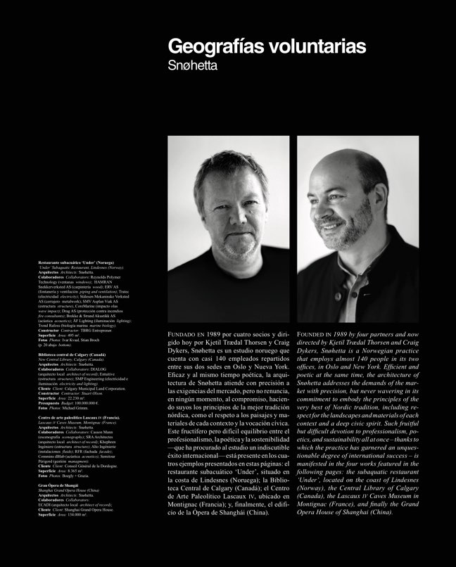 Arquitectura Viva 217 SNØHETTA - Preview 3