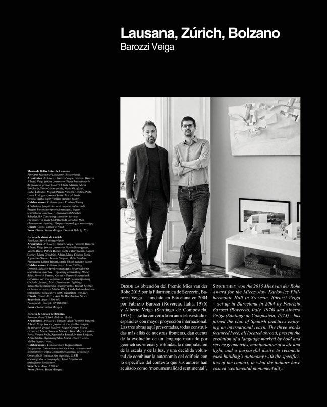 Arquitectura Viva 218 BAROZZI VEIGA - Preview 4