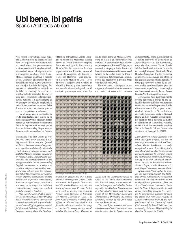 Arquitectura Viva 219 VALERIO OLGIATI - Preview 11