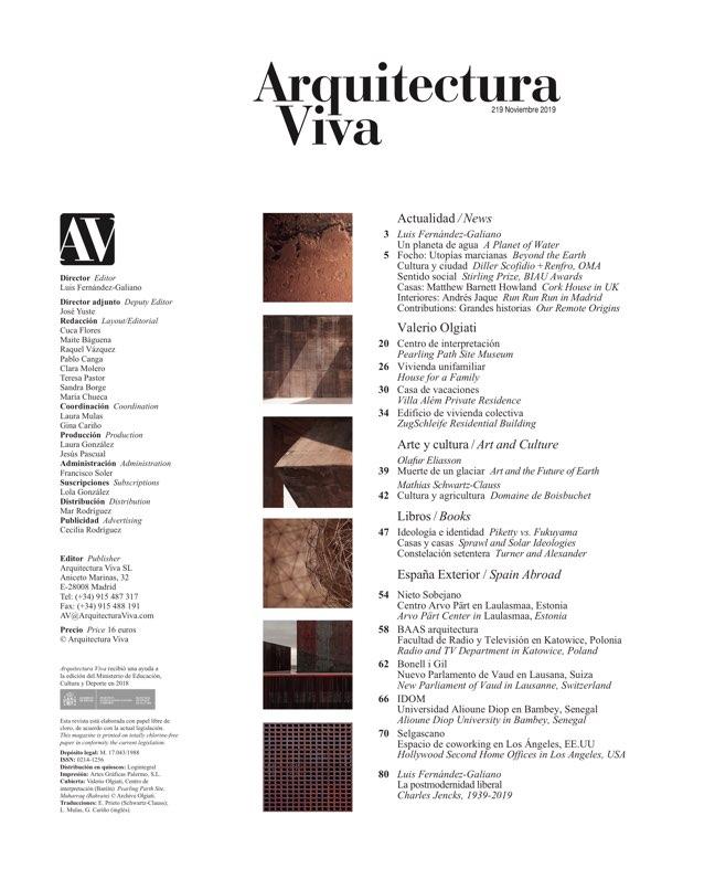 Arquitectura Viva 219 VALERIO OLGIATI - Preview 1