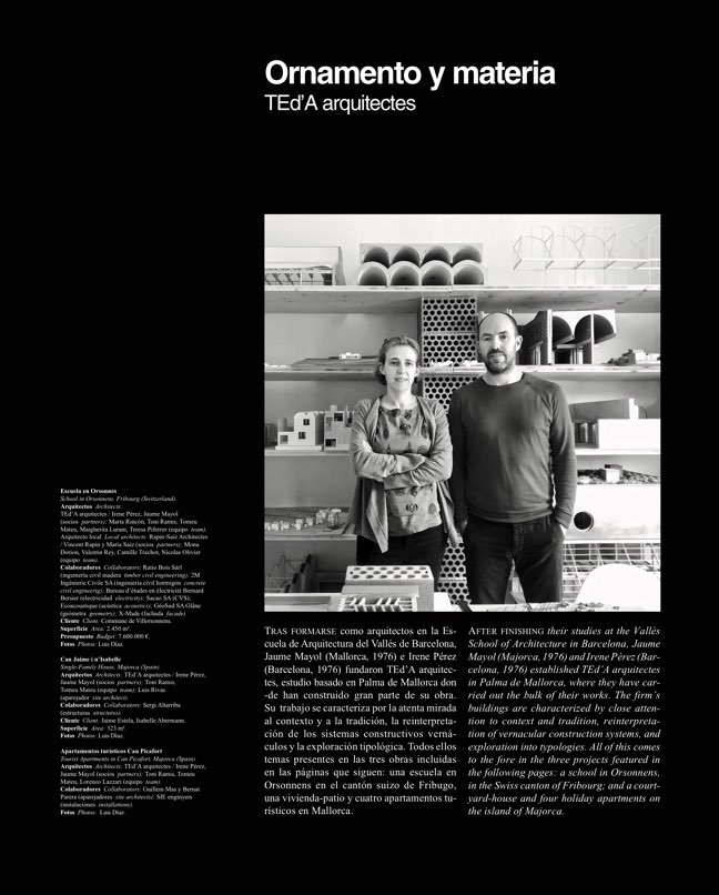 Arquitectura Viva 220 TEd'A arquitectes - Preview 4