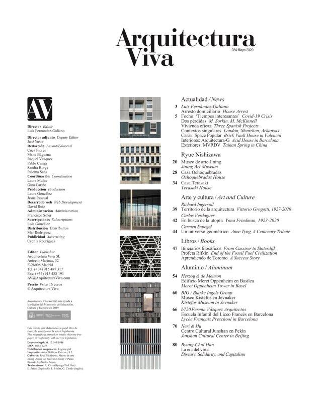 Arquitectura Viva 224 Ryue Nishizawa - Preview 1