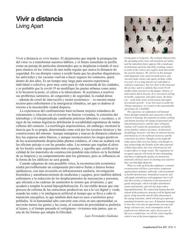 Arquitectura Viva 225 Covid-19 - Preview 2