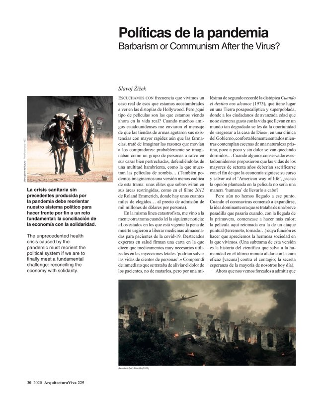 Arquitectura Viva 225 Covid-19 - Preview 8