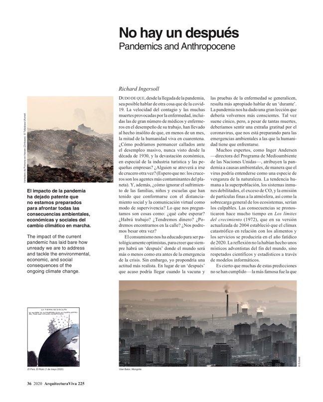 Arquitectura Viva 225 Covid-19 - Preview 9