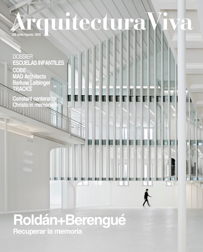 Arquitectura Viva 226 ROLDÁN+BERENGUÉ