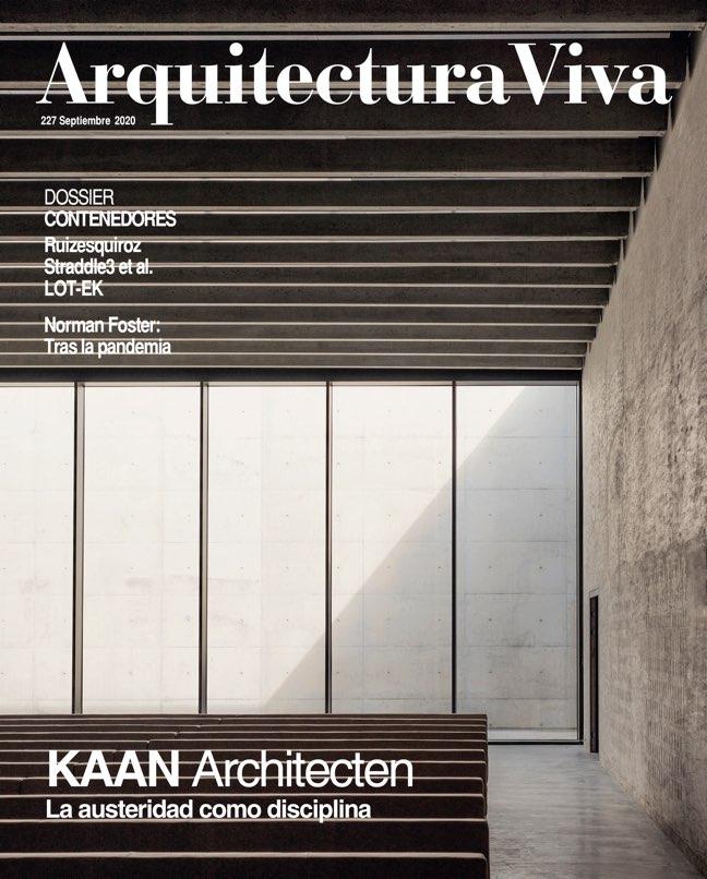 Arquitectura Viva 227 KAAN Architecten