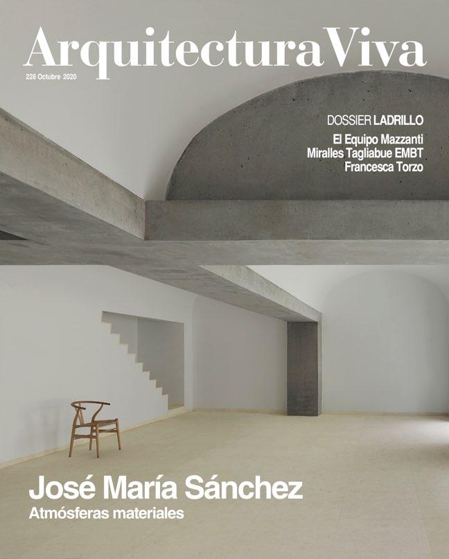 Arquitectura Viva 228 José María Sánchez