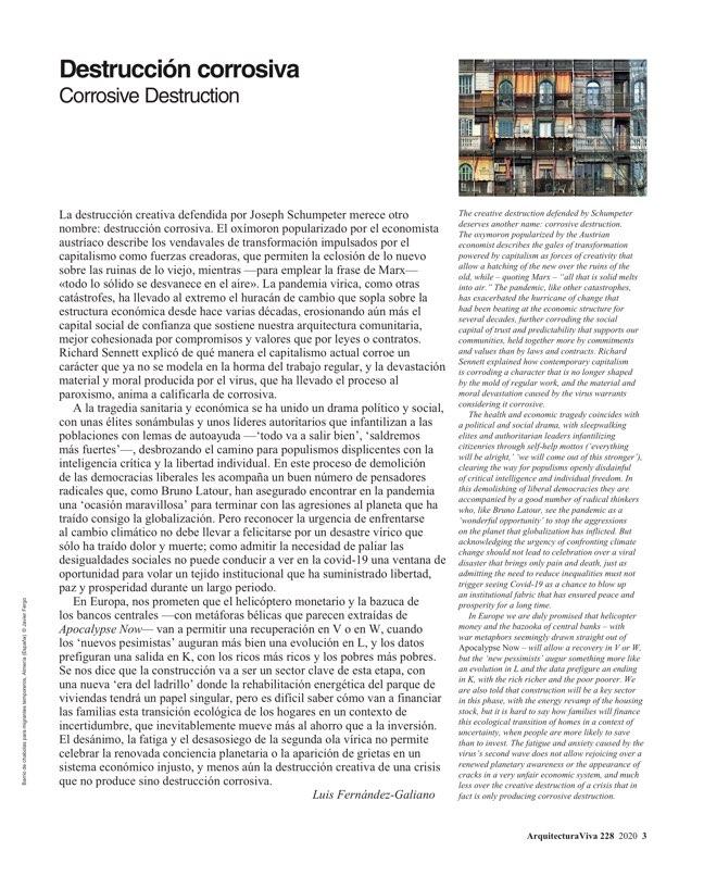 Arquitectura Viva 228 José María Sánchez - Preview 2