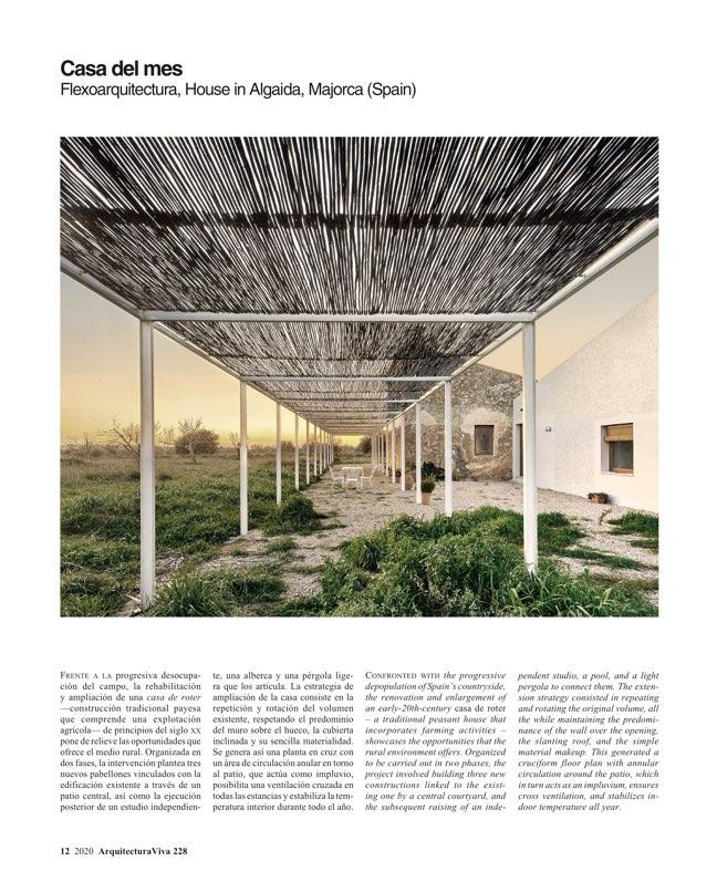 Arquitectura Viva 228 José María Sánchez - Preview 3