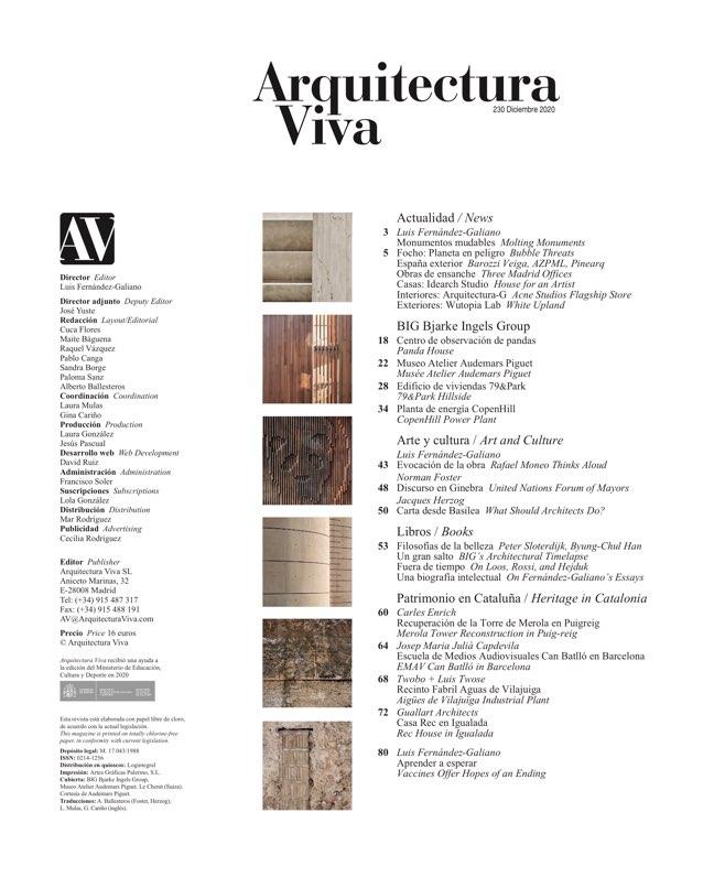 Arquitectura Viva 230 BIG Bjarke Ingels Group - Preview 1