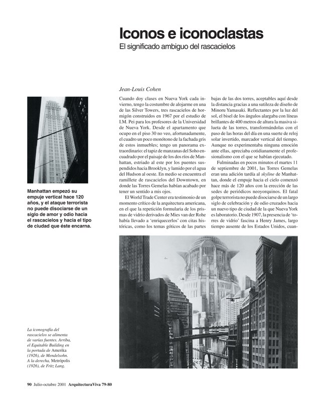 Arquitectura Viva 79-80 11 DE SEPTIEMBRE - Preview 9