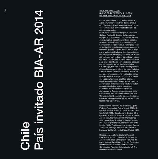 BIA—AR 2014 Bienal Internacional de Arquitectura de Argentina - Preview 100