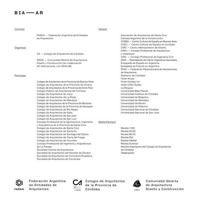 BIA—AR 2014 Bienal Internacional de Arquitectura de Argentina - Preview 3