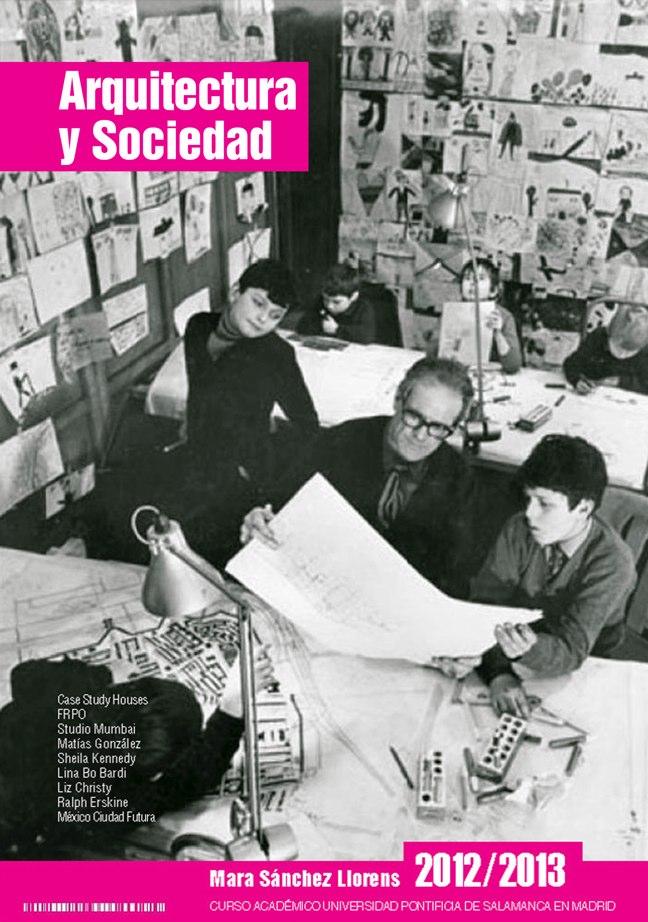 El Binomio Arquitectura y Sociedad · Mara Sanchez Llorens