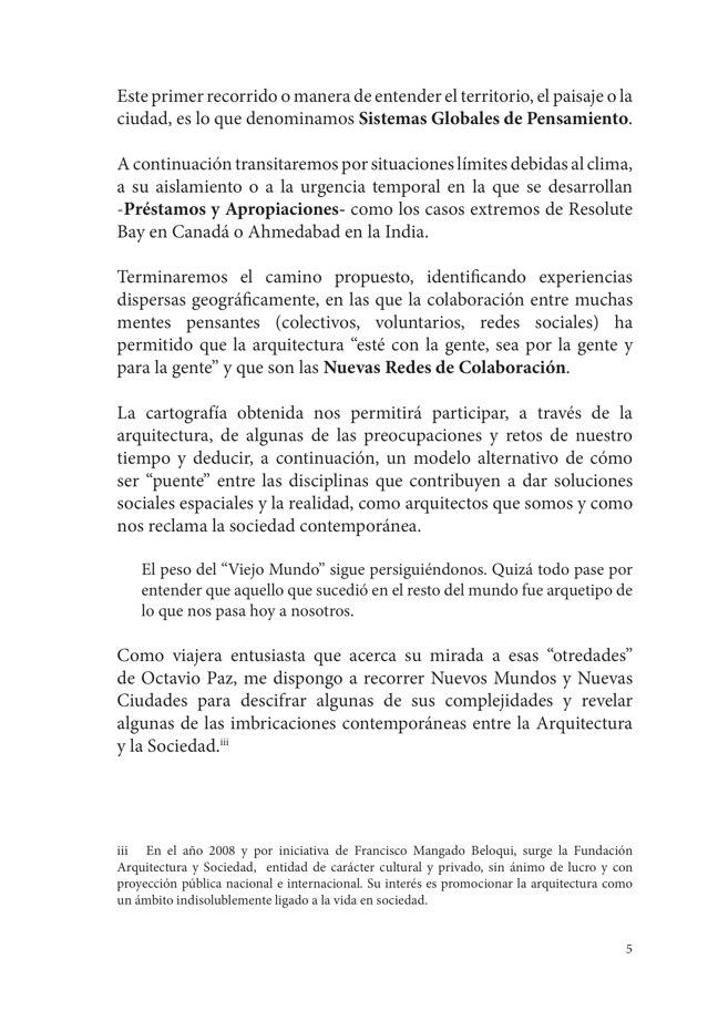 El Binomio Arquitectura y Sociedad · Mara Sanchez Llorens - Preview 5