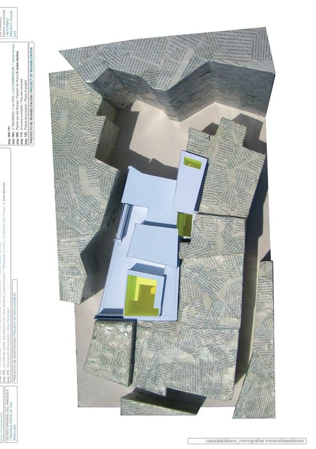 Housing in El Populo. Casa del Plátano – Book / Plane Tree House, MGM Morales de Giles - Preview 14