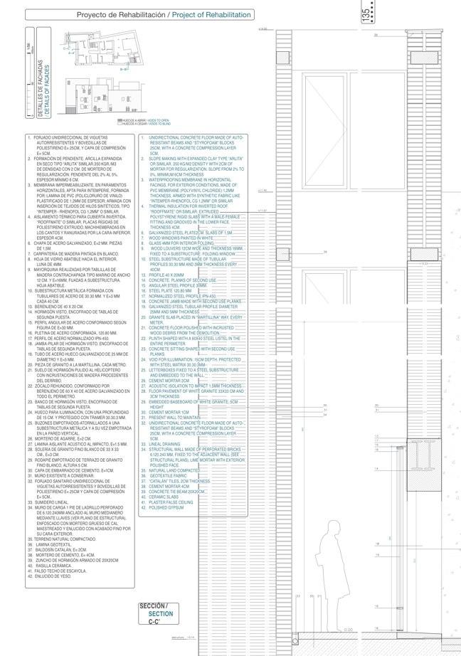 Housing in El Populo. Casa del Plátano – Book / Plane Tree House, MGM Morales de Giles - Preview 18