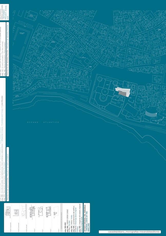 Housing in El Populo. Casa del Plátano – Book / Plane Tree House, MGM Morales de Giles - Preview 4