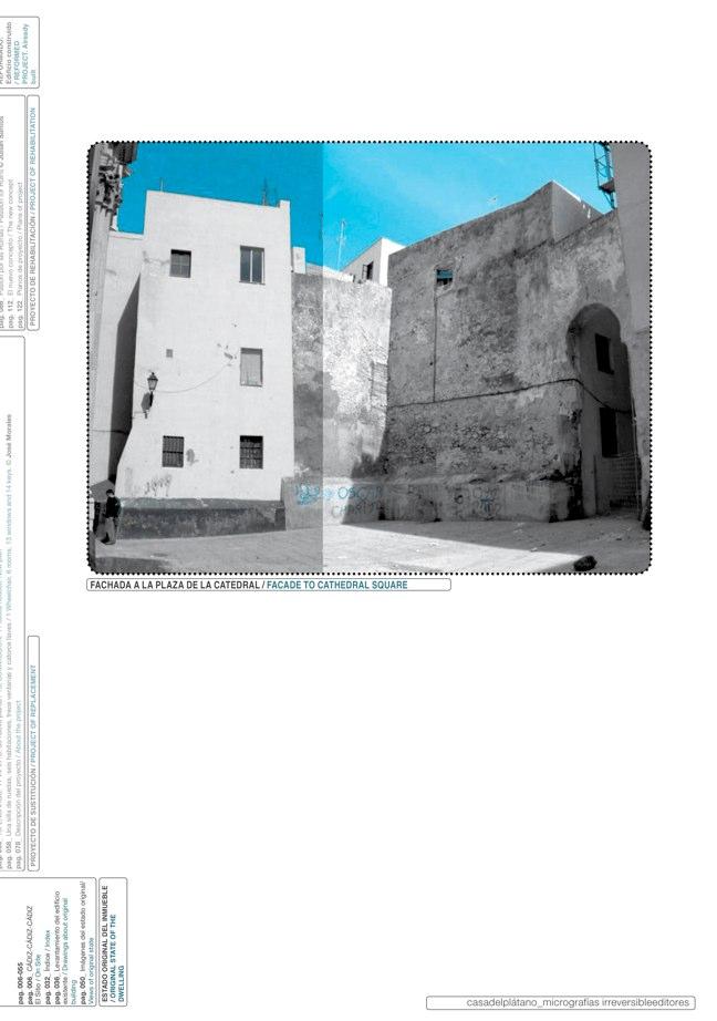 Housing in El Populo. Casa del Plátano – Book / Plane Tree House, MGM Morales de Giles - Preview 5