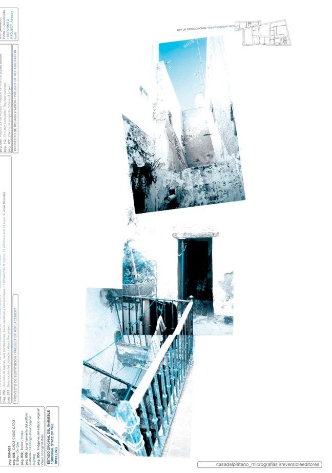 Housing in El Populo. Casa del Plátano – Book / Plane Tree House, MGM Morales de Giles - Preview 7