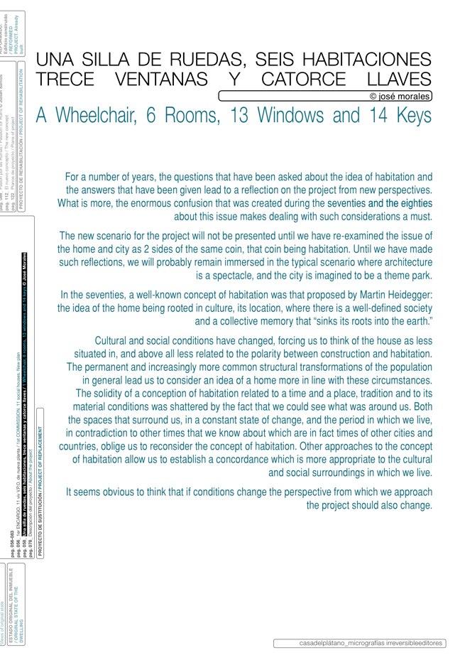 Housing in El Populo. Casa del Plátano – Book / Plane Tree House, MGM Morales de Giles - Preview 9