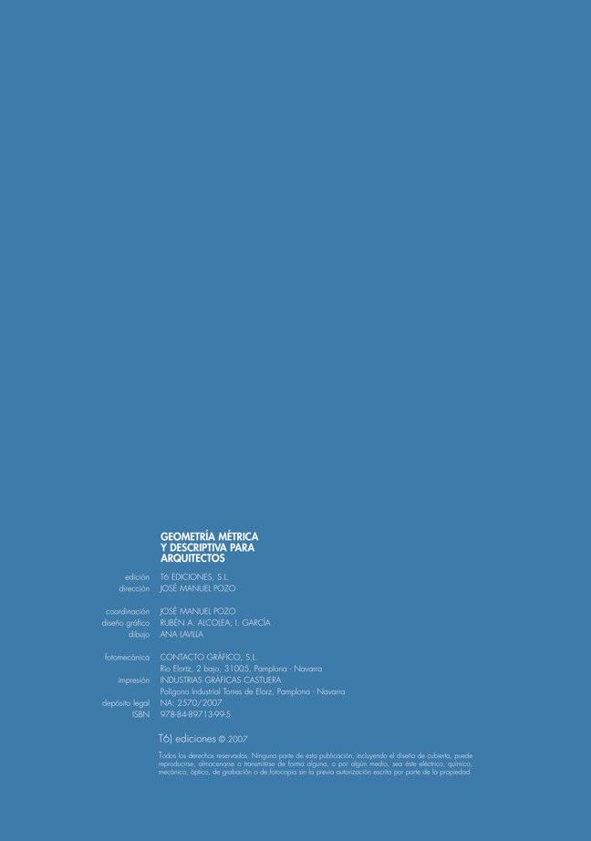Geometría Métrica y Descriptiva para arquitectos - Preview 1