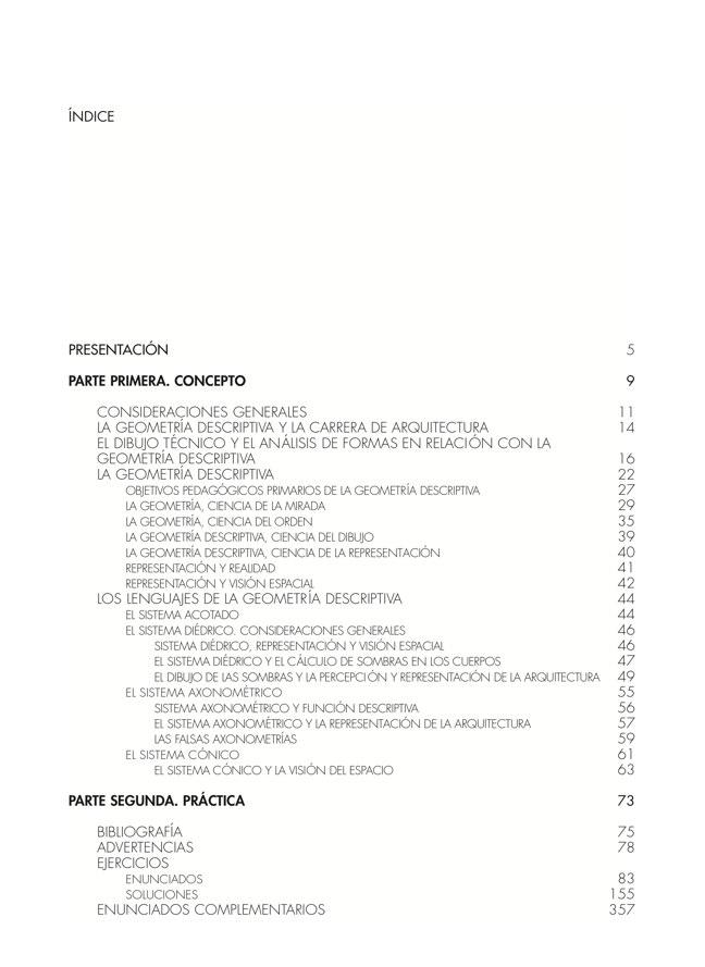 Geometría Métrica y Descriptiva para arquitectos TOMO III - Preview 1