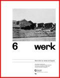 WERK 6/62 UN RETRATO DE ESPAÑA (SPANISCHE ARCHITEKTUR UND KUNST)