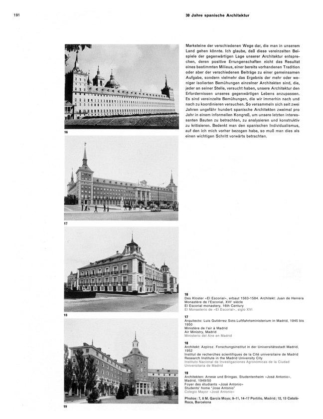 WERK 6/62 UN RETRATO DE ESPAÑA (SPANISCHE ARCHITEKTUR UND KUNST) - Preview 11