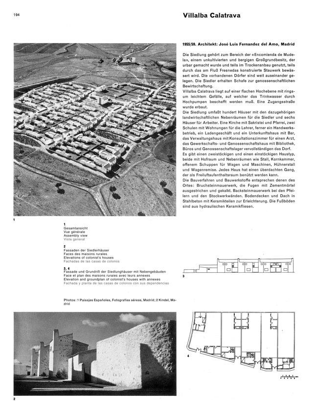 WERK 6/62 UN RETRATO DE ESPAÑA (SPANISCHE ARCHITEKTUR UND KUNST) - Preview 14