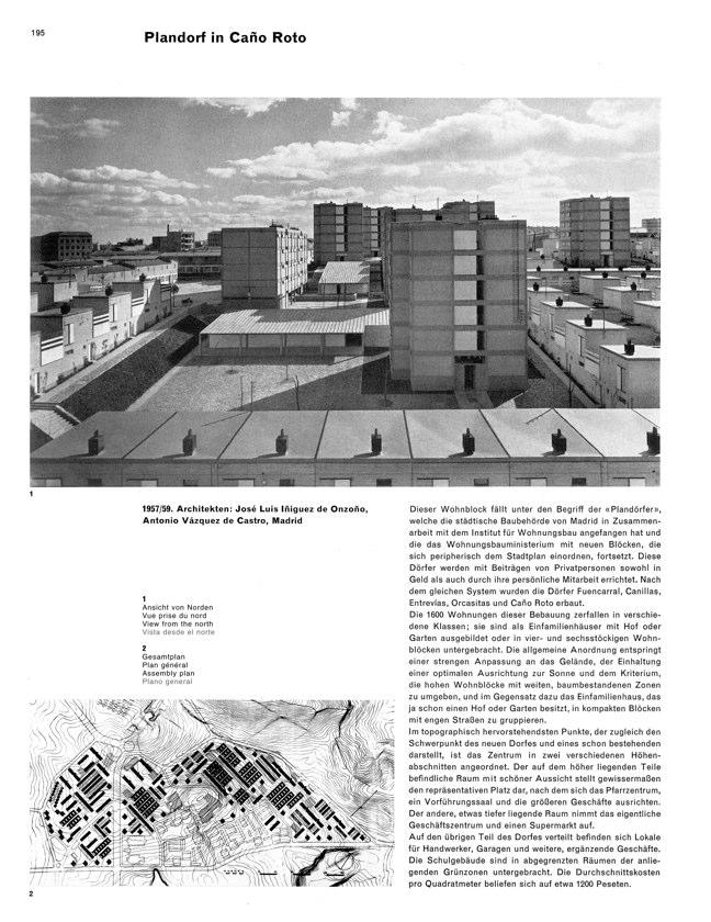 WERK 6/62 UN RETRATO DE ESPAÑA (SPANISCHE ARCHITEKTUR UND KUNST) - Preview 15