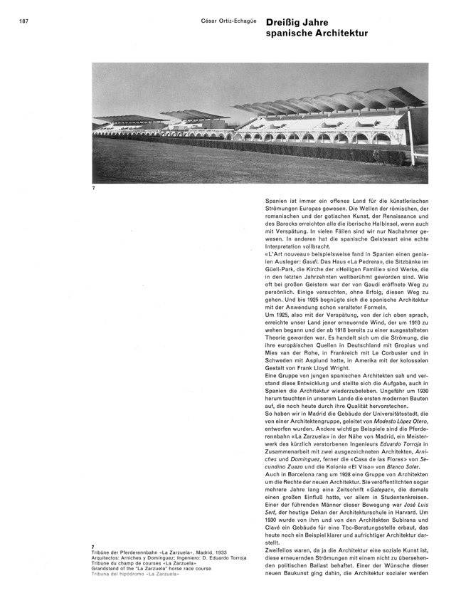 WERK 6/62 UN RETRATO DE ESPAÑA (SPANISCHE ARCHITEKTUR UND KUNST) - Preview 7
