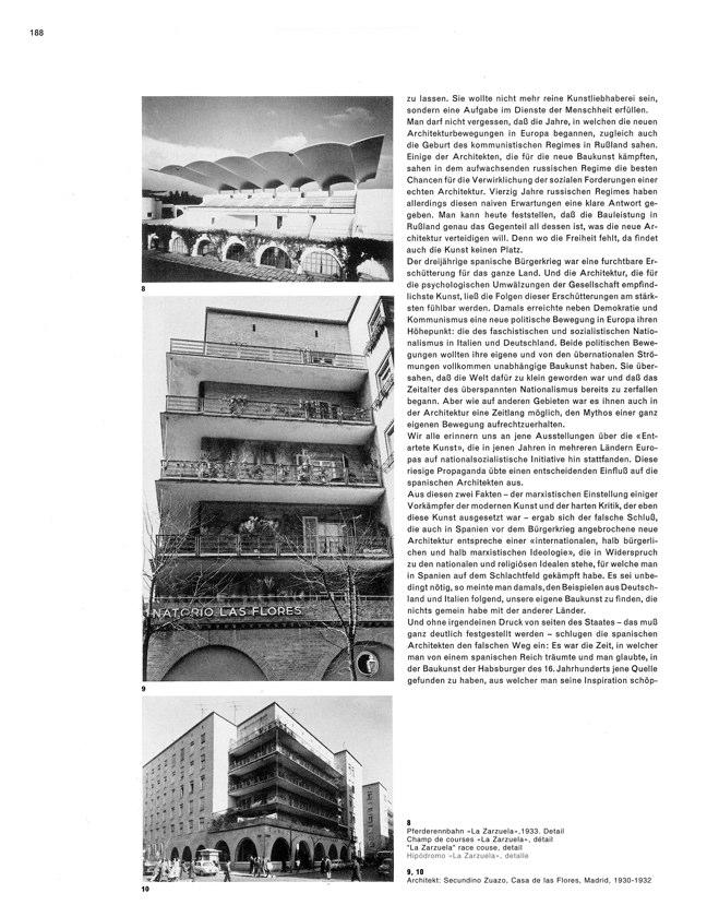 WERK 6/62 UN RETRATO DE ESPAÑA (SPANISCHE ARCHITEKTUR UND KUNST) - Preview 8