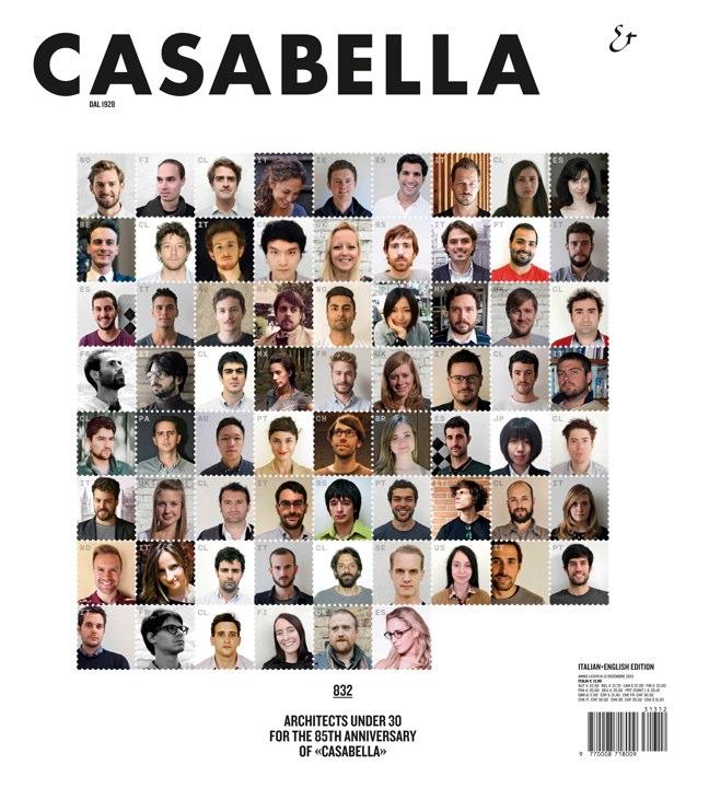 CASABELLA 832 ARCHITECTS UNDER 30