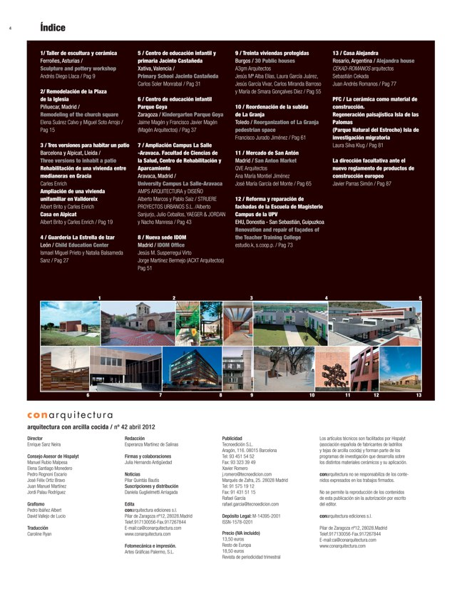 CA 42 I CONarquitectura 42. Arquitectura con archilla cocida - Preview 1
