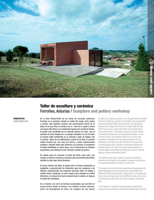 CA 42 I CONarquitectura 42. Arquitectura con archilla cocida - Preview 2