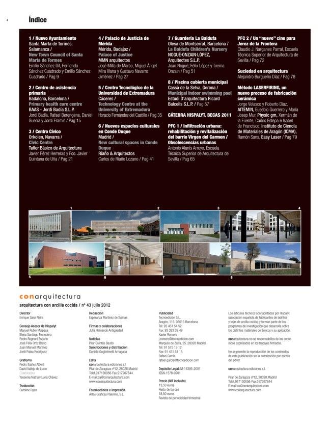 CA #43 I CONarquitectura 43. Arquitectura con archilla cocida - Preview 1