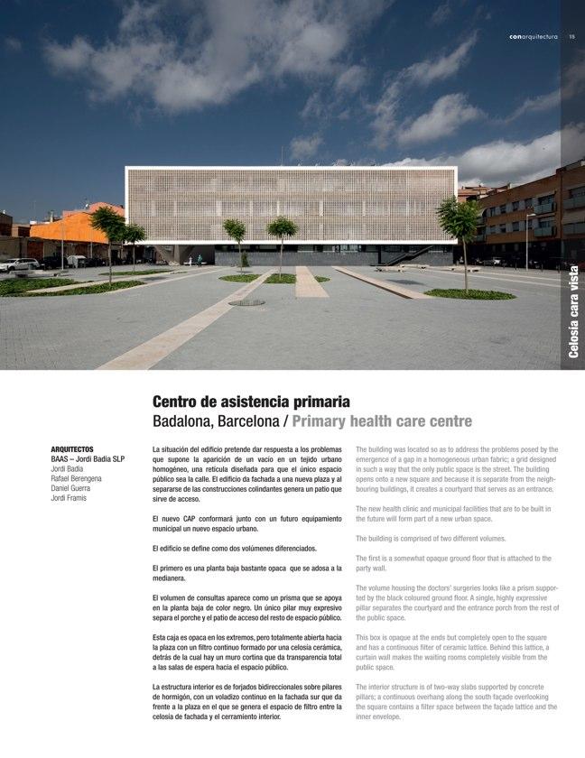 CA #43 I CONarquitectura 43. Arquitectura con archilla cocida - Preview 3