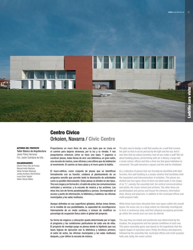 CA #43 I CONarquitectura 43. Arquitectura con archilla cocida - Preview 4