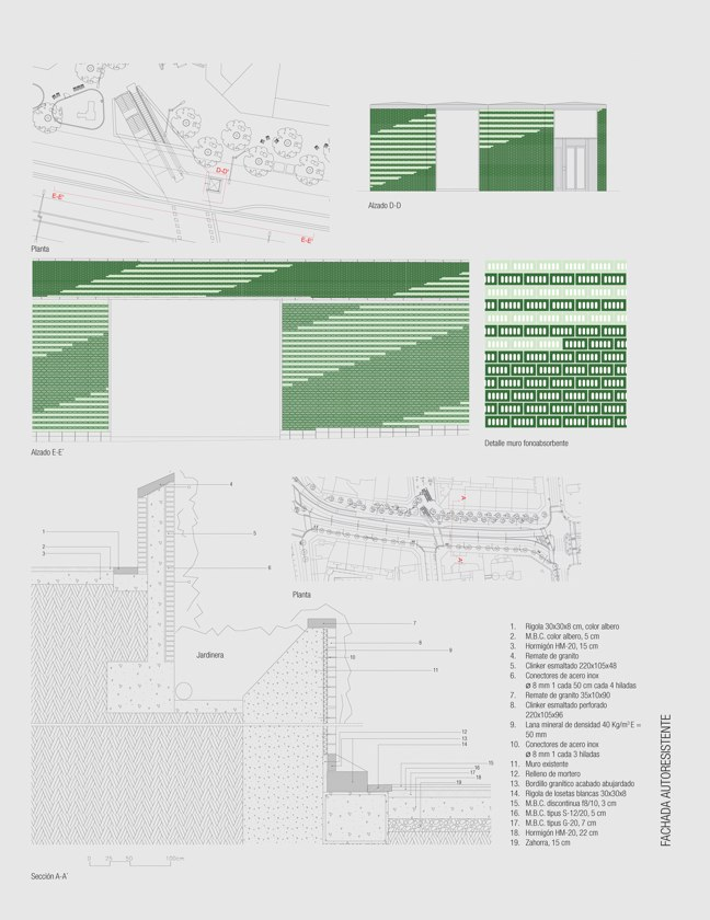 CA 44 I CONarquitectura 44. Fachadas autoportantes con ladrillo cara vista - Preview 15