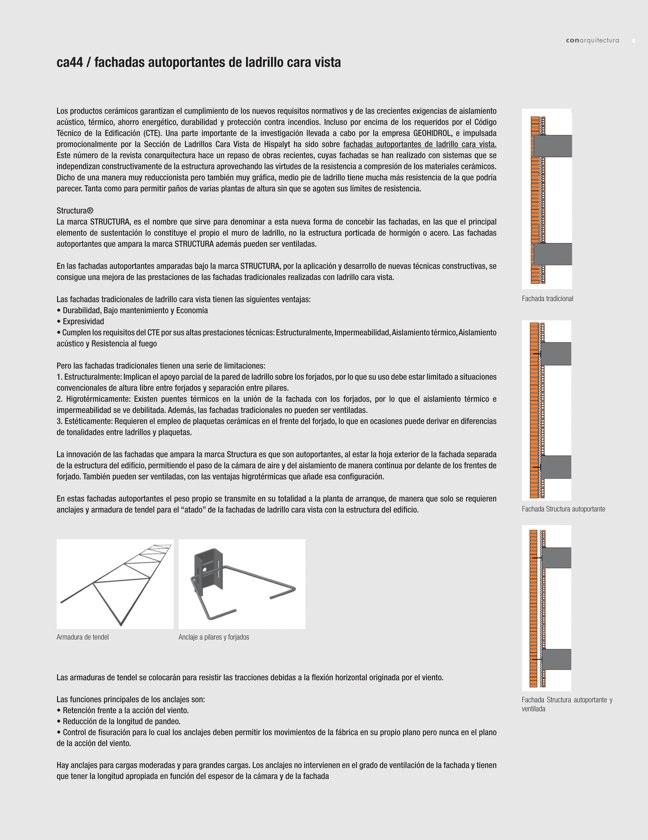 CA 44 I CONarquitectura 44. Fachadas autoportantes con ladrillo cara vista - Preview 1