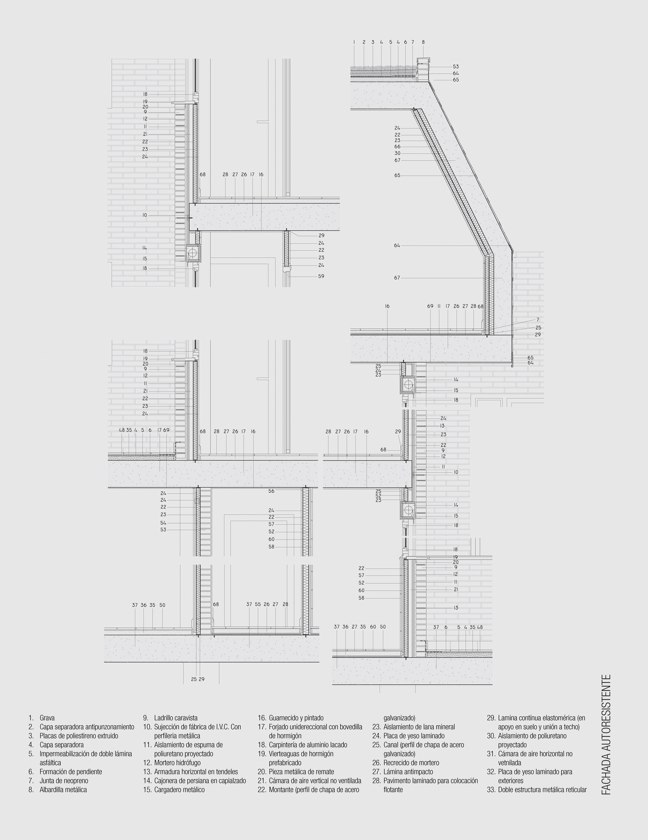 CA 44 I CONarquitectura 44. Fachadas autoportantes con ladrillo cara vista - Preview 8