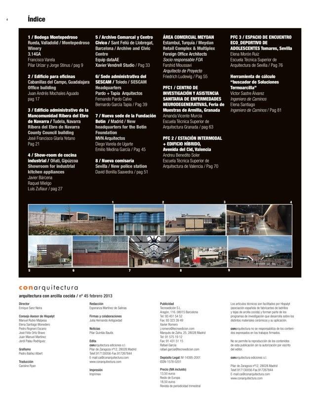 CA 45 I CONarquitectura 45. Arquitectura Industrial y para el Trabajo - Preview 1