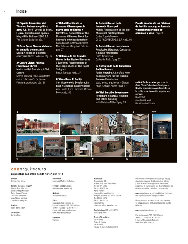 CA 47 I CONarquitectura 47. REHABILITACIÓN I RENOVATIONS - Preview 1