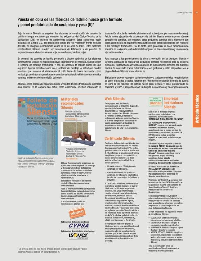 CA 48 I CONarquitectura 48. EFICIENCIA ENERGÉTICA I ENERGY EFFICIENCY - Preview 21