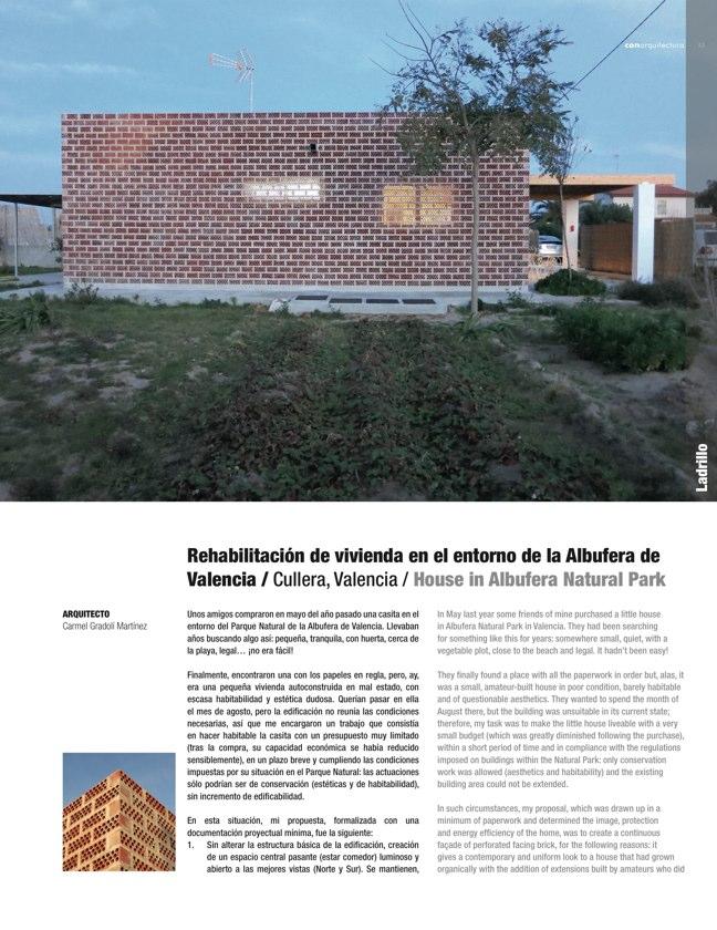 CA 49 I CONarquitectura 49. ARQUITECTURA CON ARCILLA COCIDA - Preview 14