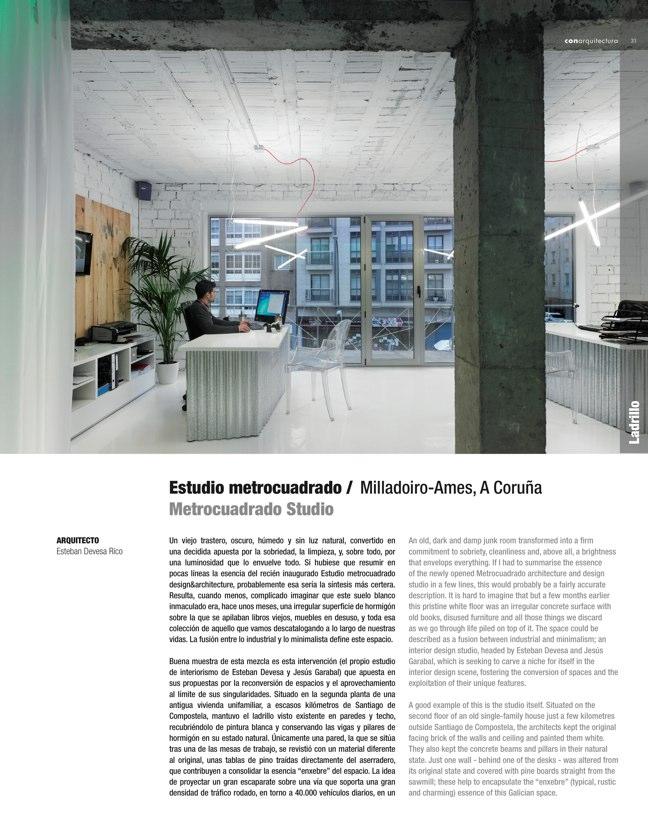 CA 49 I CONarquitectura 49. ARQUITECTURA CON ARCILLA COCIDA - Preview 9