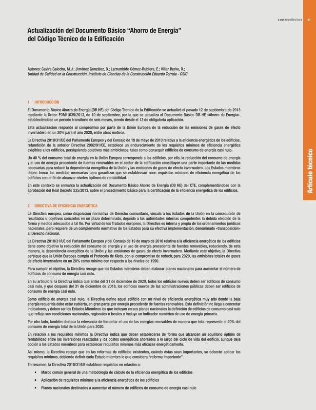 CA 50 I CONarquitectura 50. ARQUITECTURA CON ARCILLA COCIDA - Preview 15