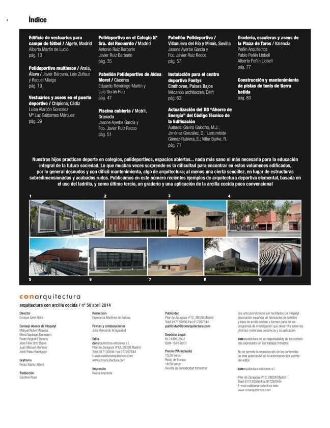 CA 50 I CONarquitectura 50. ARQUITECTURA CON ARCILLA COCIDA - Preview 1